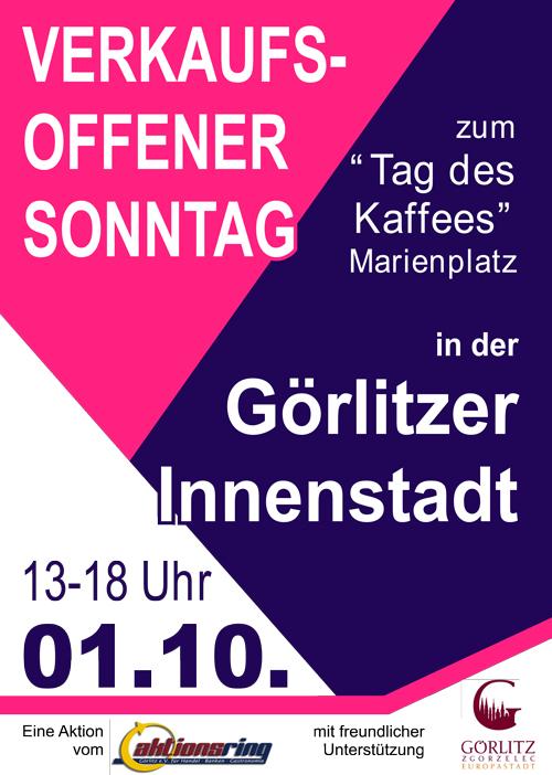Verkaufsoffener Sonntag Görlitz Oktober 2017